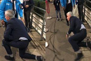 Xem lại khoảnh khắc Mourinho ngã sấp mặt