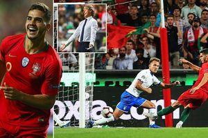 'Chấp' Ronaldo, Bồ Đào Nha vẫn đánh bại Italia