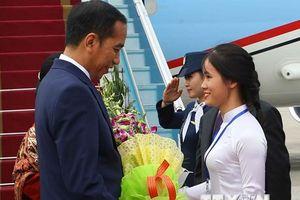 Hình ảnh lễ đón Tổng thống Indonesia thăm cấp Nhà nước Việt Nam