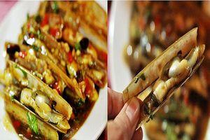 Tuyệt chiêu nấu ốc móng tay xào tỏi dai giòn, thơm ngon