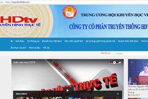 Phạt Công ty HDTV Việt Nam 15 triệu đồng vì thiết lập trang thông tin điện tử không phép