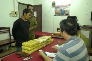 Bắt đối tượng nước ngoài vận chuyển hơn 110 nghìn viên ma túy