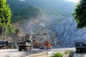Khai thác đá gây ô nhiễm giữa trung tâm TP Hà Giang