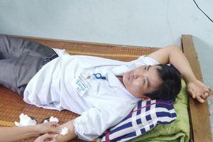 Bác sĩ hiến máu, cứu sống sản phụ nguy kịch