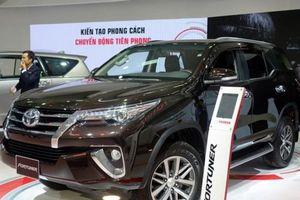 Nhập khẩu xe trở lại, thị phần Toyota, GM tăng 'bất chấp' tháng cô hồn