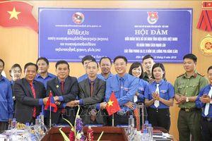 Tăng cường hợp tác, giao lưu giữa tuổi trẻ Điện Biên và các tỉnh Bắc Lào