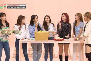 Idol Room: Vừa comeback, Oh My Girl đã lên show thi ăn chanh khí thế