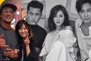 Ngưỡng mộ tình cảm của sao 'Thử thách thần chết' và Jung Woo Sung dành cho Go Ara - Cách 17 tuổi nhưng vẫn đẹp đôi