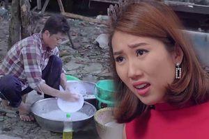 'Gạo nếp gạo tẻ' tập 57: Hân quá quắt mắng mẹ quê mùa - Công phải rửa chén trừ tiền cơm
