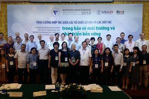 Tăng cường hợp tác bảo vệ môi trường và phát triển bền vững