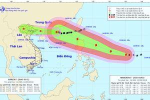 Khẩn trương ứng phó với thời tiết nguy hiểm do siêu bão MANGKHUT