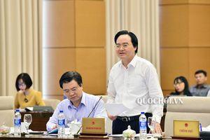 Ủy ban Thường vụ Quốc hội cho ý kiến về dự án Luật Giáo dục (sửa đổi)