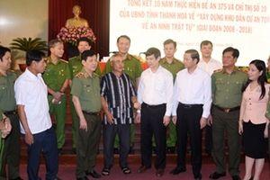 Xây dựng 'Khu dân cư an toàn về ANTT' ở Thanh Hóa là chủ trương đúng đắn, sáng tạo