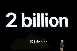 Apple công bố sắp chạm mốc 2 tỷ thiết bị được bán ra tại sự kiện ra mắt iPhone mới