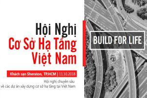Cập nhật xu hướng xây dựng tại hội nghị cơ sở hạ tầng Việt Nam