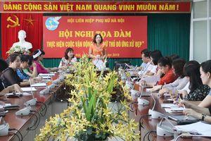 Chuyển biến rõ nét cuộc vận động phụ nữ Thủ đô ứng xử đẹp