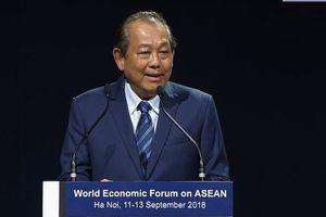 Bế mạc Diễn đàn Kinh tế thế giới về ASEAN 2018