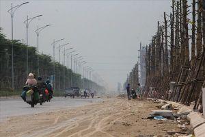 'Hình hài' con đường 5.000 tỷ nối bốn quận, huyện Hà Nội sắp khánh thành