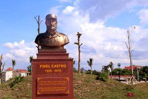 Quảng Trị có công viên mang tên lãnh tụ Fidel Castro