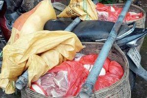 Sát ổ dịch Trung Quốc, thịt lợn 'xách tay' vẫn tuồn qua biên giới