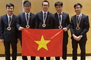 Thành tích Olympic 2018 của học sinh Việt Nam