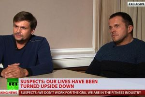 Hai 'nghi phạm đầu độc cựu điệp viên Nga' lên tiếng