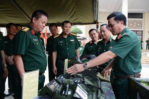 Binh chủng Hóa học sơ kết năm 5 năm, thực hiện Nghị quyết 765 của Quân ủy Trung ương về nâng cao chất lượng huấn luyện