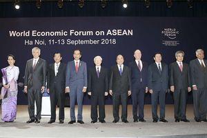 WEF ASEAN 2018: Khai mạc Diễn đàn Kinh tế Thế giới về ASEAN 2018