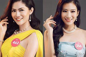 Vẻ gợi cảm của 2 người đẹp siêu vòng 3 tại Hoa hậu VN 2018