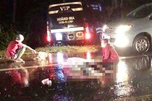 Xe máy tông xe khách, 2 thanh niên tử vong tại chỗ