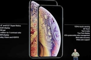 Apple chính thức ra mắt bộ đôi iPhone XS và XS Max 6,5 inch