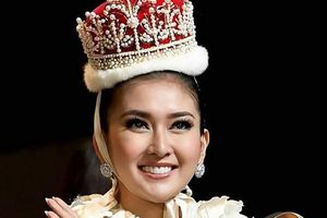 Hoa hậu quốc tế 2017 Kevin Lilliana đến Việt Nam