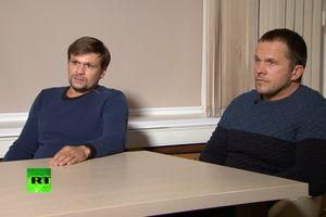 Hai người Nga bị cáo buộc đầu độc cựu điệp viên lên tiếng