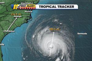 'Quái vật' bão Florence bất ngờ hạ cấp