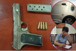 Bắt đối tượng nổ súng tại bến xe Mỹ Đình