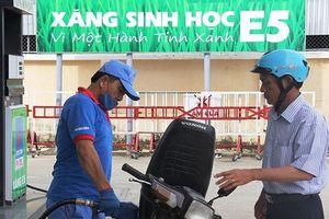 Ethanol sản xuất trong nước đắt hơn 800 đồng/lít so với nhập khẩu