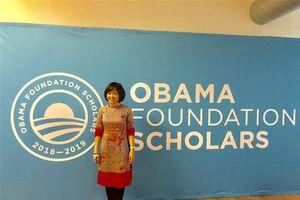 Nữ Anh hùng khí hậu Việt Nam nhận học bổng Obama