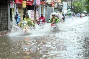 Ảnh hưởng của siêu bão Mangkhut, Bắc Bộ có mưa rất to từ ngày 17-19/9