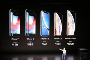 Apple trình làng 3 mẫu iPhone mới: XS, XS Max và XR