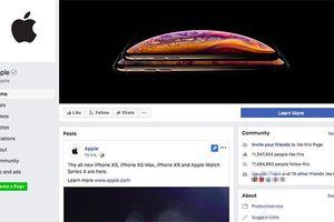 Tin hay không tùy bạn, ròng rã 5 năm trời Apple mới đăng một bài trên Facebook chính thức