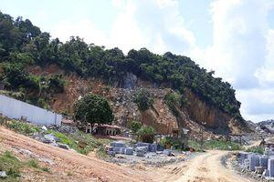 Như Xuân (Thanh Hóa): Công ty Hoan Liên khai thác ngoài vị trí, xây các công trình phụ trợ trên đất chưa được thuê