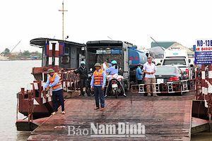 Nam Định: Đảm bảo trật tự ATGT trên tuyến đường thủy nội địa