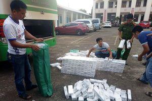 Vận chuyển hơn 3.000 gói thuốc lá lậu từ biên giới về Đắk Lắk tiêu thụ