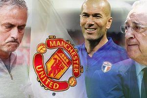 Chủ tịch Real 'khó chịu' với việc Zidane đến Man Utd