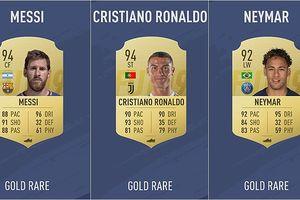 Top 10 cầu thủ xuất sắc nhất FIFA 19: Ronaldo đánh bại Messi và Neymar