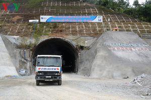 Dự án hầm đường bộ Cù Mông vượt tiến độ 3 tháng