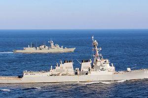 Tàu khu trục Mỹ tới Địa Trung Hải giữa lúc căng thẳng Syria leo thang