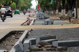 Nghệ An: Chi 13,7 tỷ đồng cải tạo hơn 600m vỉa hè