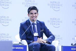Ba lãnh đạo trẻ 'vừa có sắc, vừa có tài' tại WEF ASEAN 2018