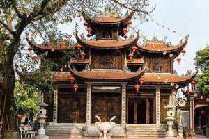 Lập dự án cải tạo, mở rộng di tích chùa Thành